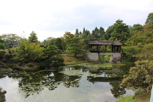 京都の必見観光名所 修学院離宮(要予約)千歳橋