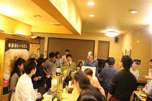 2015富山ランニングクラブ忘年会@東条うどん