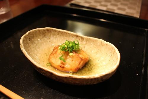 上市里芋の揚げ出し豆腐富山日本料理 冨久屋(ふくや)