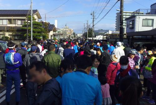 富山護国神社元旦マラソンに参加してみた