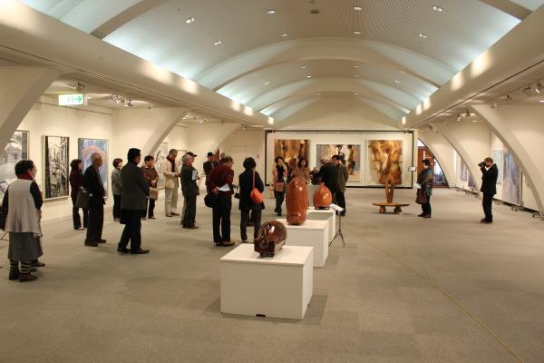 福野文化創造センターヘリオス:ハンガリーに渡った南砺市の作家たち展