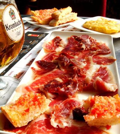 バルセロナで美味しいバルならカルペップ&ラ・パルメラ