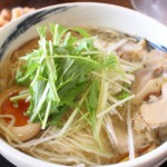 ラーメン真太さんで美味塩鶏そばを食す:富山県南砺市福野