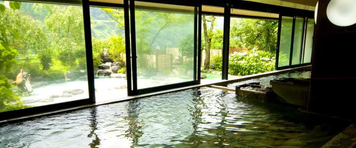 内風呂画像:宇奈月温泉で日帰り入浴ならグリーンホテル喜泉がおすすめ!