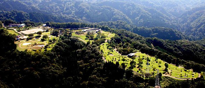 上空画像富山ランニングクラブ夏バーベキュー大会in東福寺野自然公園