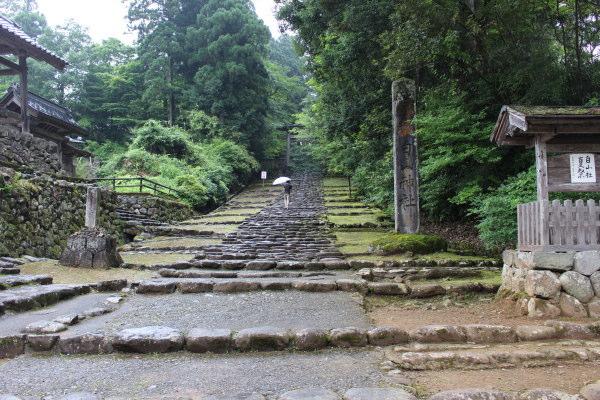 入り口福井の癒し系観光スポット見つけた!北陸の苔寺こと平泉寺白山神社