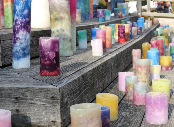 ロウソク:井波(いなみ)灯りアートで瑞泉寺ライトアップ&閑乗寺ハッピーセブン