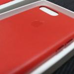 iPhone7プラスの純正レザーケースが届いたので早速レビュー