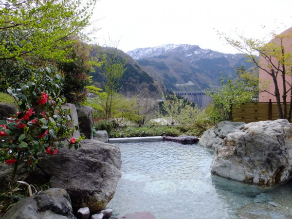 露天風呂画像:富山の日帰り入浴露天風呂おまき温泉和園