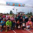 なめりかわほたるいかマラソン富山ランニングクラブメンバー集合写真