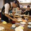 寿司握り風景:京都の出張寿司職人M-HERO広瀬さんのオーダー手巻き寿司を楽しむ