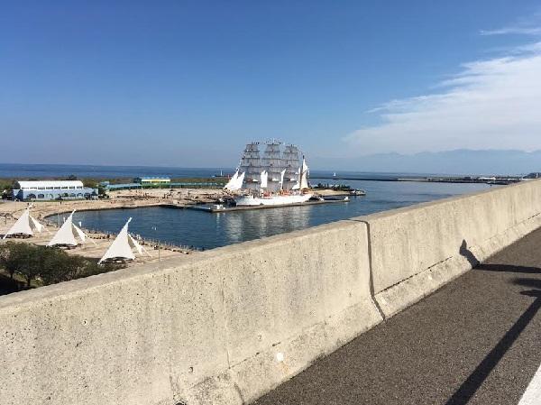 富山マラソン新湊大橋