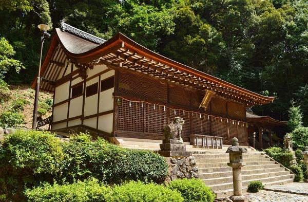 宇治上神社本殿(国宝):京都世界遺産