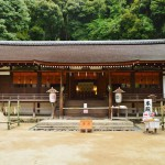 まるで町内の神社?(コラ)京都世界遺産の宇治上神社:駐車場案内有り