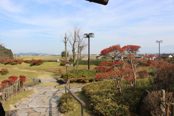 自慢の庭:合掌造りで優雅なランチなら五万石千里山荘さん:富山市婦中