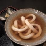 麺というより縄?たわらやさんで名物1本うどんを食す:京都北野天満宮