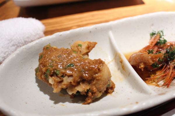 付き出し:富山で味噌おでんならマンテンホテル居酒屋くろべ