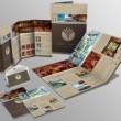 パンフレットデザインカタログ冊子