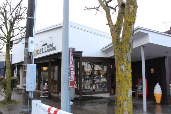 カフェ外観::富山カフェ・セルコーヒーロースターズ