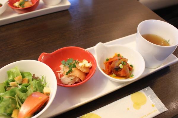 前菜:富山カフェ:滑川マルミットアンサンでオサレランチ