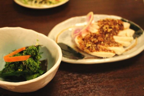 菜の花:もてなし蔵和onさんで割烹料理を楽しむ:富山居酒屋