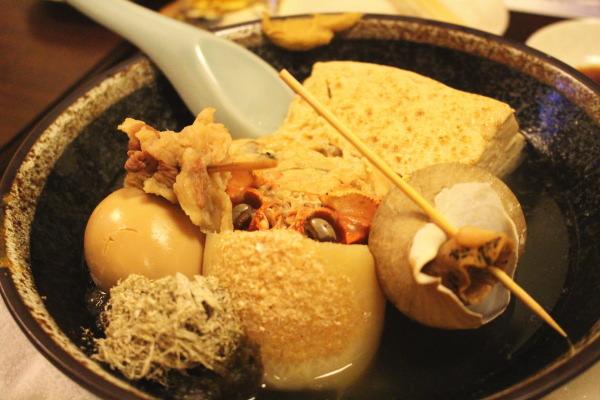 おでん:もてなし蔵和onさんで割烹料理を楽しむ:富山居酒屋
