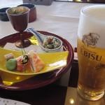 富山会席:合掌造り五万石千里山荘さんで日本料理を堪能