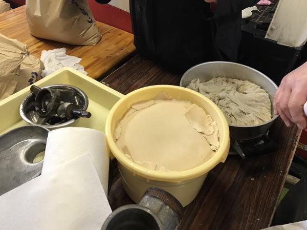 酒粕完成!南砺市みのふぁーむさんで有機無農薬大豆で味噌作りを体験!