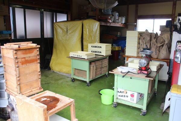みのふぁーむさん工場:南砺市みのふぁーむさんで有機無農薬大豆で味噌作りを体験!
