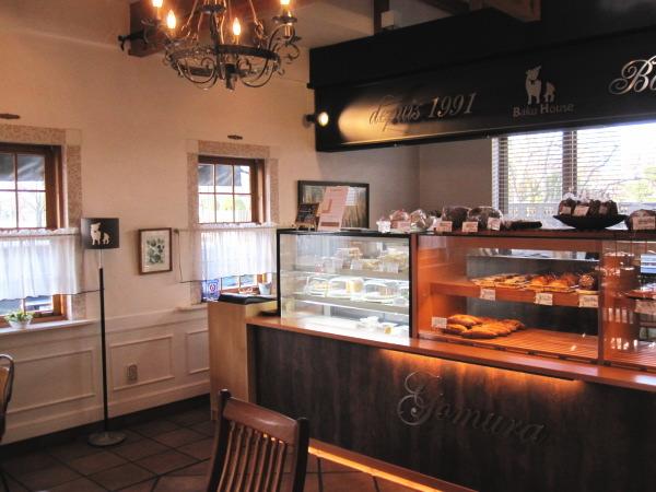 店内写真;富山カフェ:パン屋Baku Houseさんのモーニングセットがお得