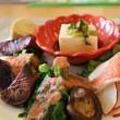 野菜プレート2:カフェゴッコ(富山市今泉)で新鮮安全なヘルシー野菜ランチを食す