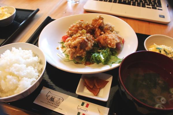 油淋鶏:富山ランチ:魚津のオサレカフェ藤吉さんで高品質食材を楽しむ