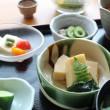 富山ランチ:眺望抜群の呉山飛天(ござんひてん)で麦とろ御膳を食す