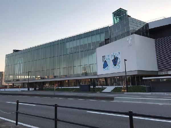 外観:子どもが遊べる美術館!富山県立美術館に行ってきました。