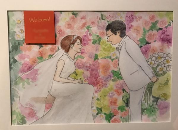 富山で結婚式・二次会のウェルカムボード制作ならタニデザイン