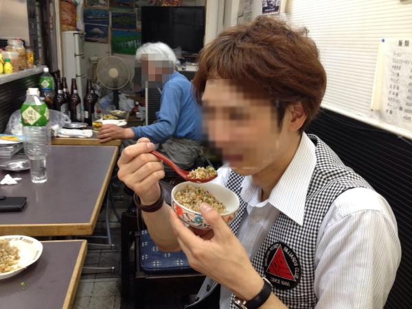 店内大阪西成の高評価中華料理店「大阪飯店」に行ってきた