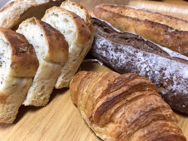 クロワッサン他:富山パン日記:天然酵母パンが美味しい「ぱんのおと」さんへ