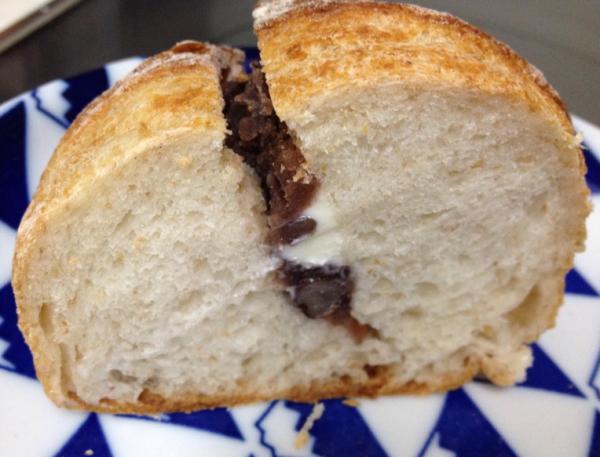 あんこ&バター:富山パン日記:天然酵母パンが美味しい「ぱんのおと」さんへ