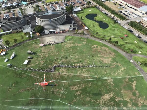 タワー頂上から:意外に楽しい!?クロスランドおやべでミニSL&タワー登頂