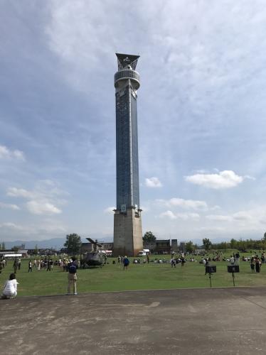 タワー:意外に楽しい!?クロスランドおやべでミニSL&タワー登頂