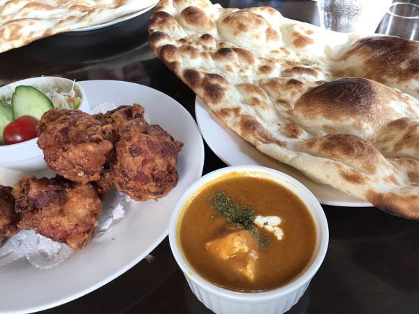 からあげカレー:富山カレー:インド料理ガンディでヘルシーカレーランチ(高岡市佐野)