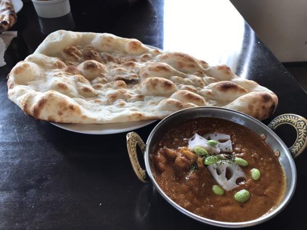 まかないカレー:インド料理ガンディでヘルシーカレーランチ(高岡市佐野)