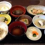 日本料理冨久屋さんランチを青池学園富山校で食す