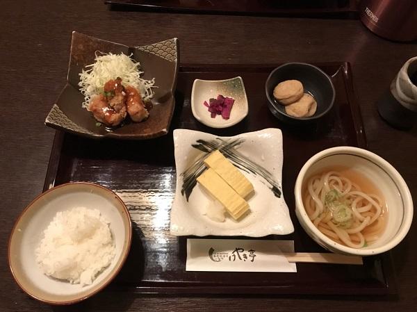 定食 富山駅前ランチ日記:掘りごたつ席個室がラクなけやき亭さん