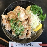 南砺市ランチ日記:人気中華料理店の青龍さんで唐揚げ会食