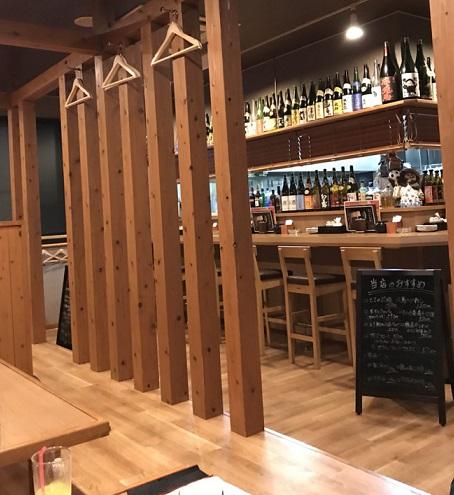 店内内観 富山焼き鳥日記:ゴロゴロ焼き鳥と付き出しキャベツが美味なとり翔さん
