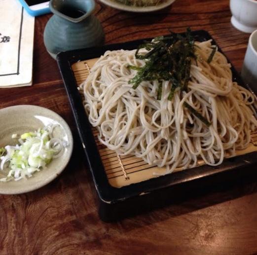 そば大盛り画像 富山ランチそば:つるや本店のツルツルざる蕎麦で大満足