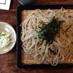 富山ランチそば:つるや本店のツルツルざる蕎麦で大満足