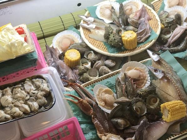 魚介セット 市場で買った魚がその場で浜焼きできる!能登食祭市場