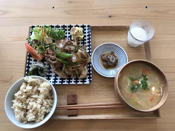 豚肉定食 富山ランチ日記:ヘルシー&美味しい♪船橋村のお※食堂さん